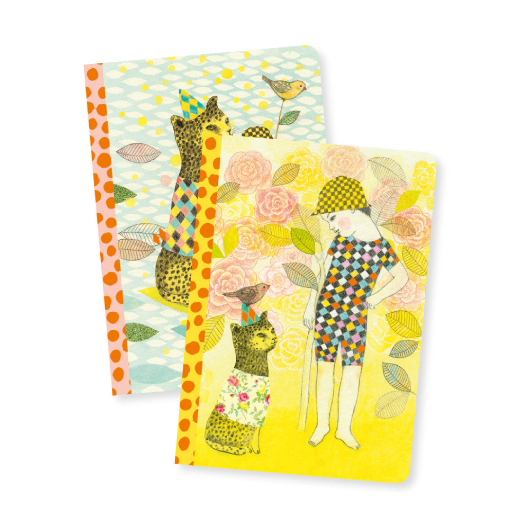 Elodie 2 Small Notebooks
