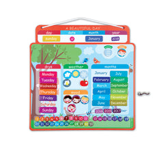 "Janod Magnetic Calendar ""A Beautiful Day"" - Little Citizens Boutique  - 1"