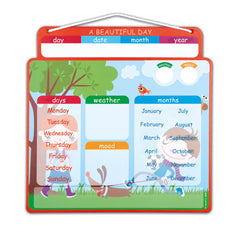 "Janod Magnetic Calendar ""A Beautiful Day"" - Little Citizens Boutique  - 2"