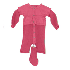 Eva Combi with Booties- Berry - Little Citizens Boutique