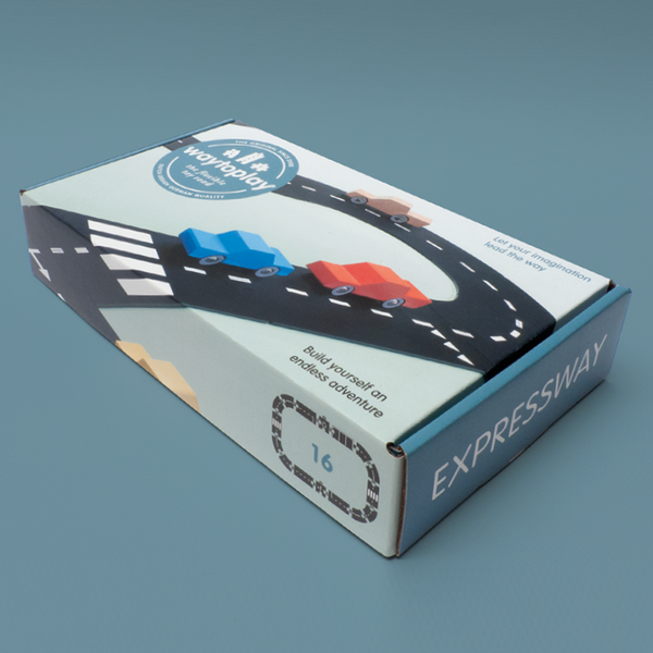 Expressway 16 Pieces Interactive Puzzle by waytoplay