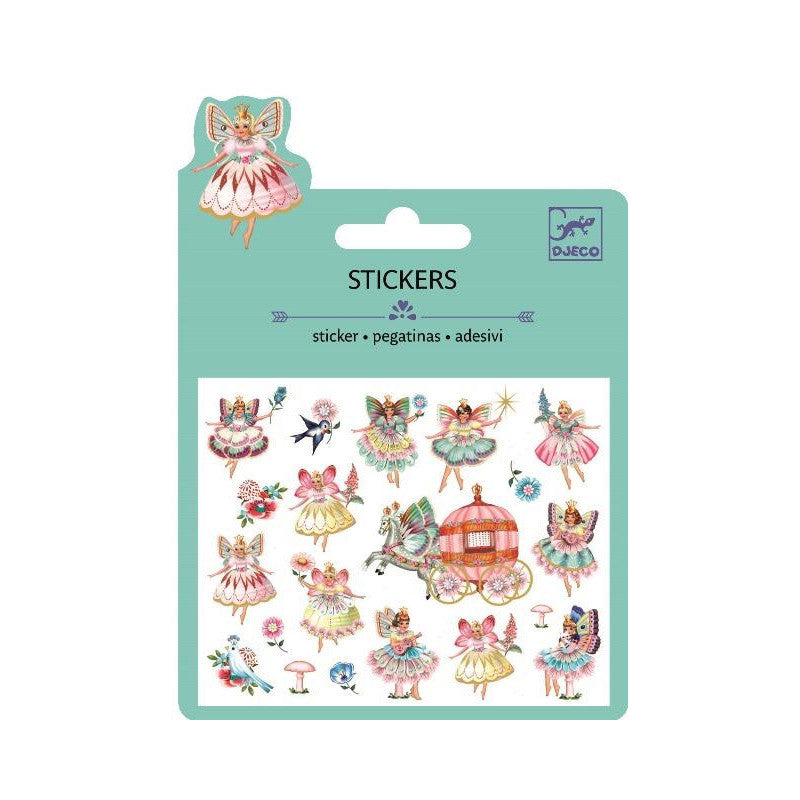 Fairies & Tiny Wings Puffy Stickers by Djeco - Little Citizens Boutique