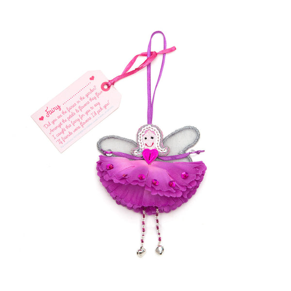 Fairy……(purple flower)(personalise) - By Believe You Can