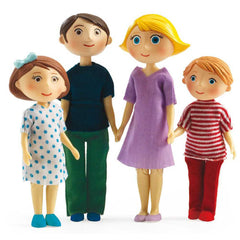 Family Gaspard and Romy by Djeco - Little Citizens Boutique