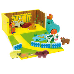 Farm Truck Set by Vilac - Little Citizens Boutique  - 1
