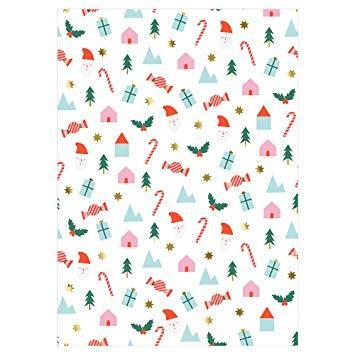 Festive Icons Wrapping Paper by Meri Meri