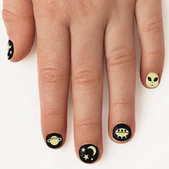 Fingernail Friends - Glow in the Dark Space by Natural Products - Little Citizens Boutique  - 2