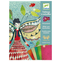 Fireflies Foil Art Kit by Djeco - Little Citizens Boutique  - 1