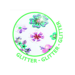 Djeco Flower Glitter stickers - Little Citizens Boutique  - 2