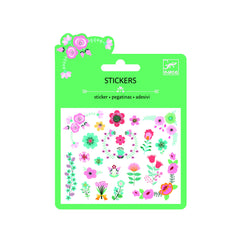 Djeco Flower Glitter stickers - Little Citizens Boutique  - 1