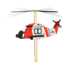 Vilac Flying Helicopter - Red - Little Citizens Boutique  - 1