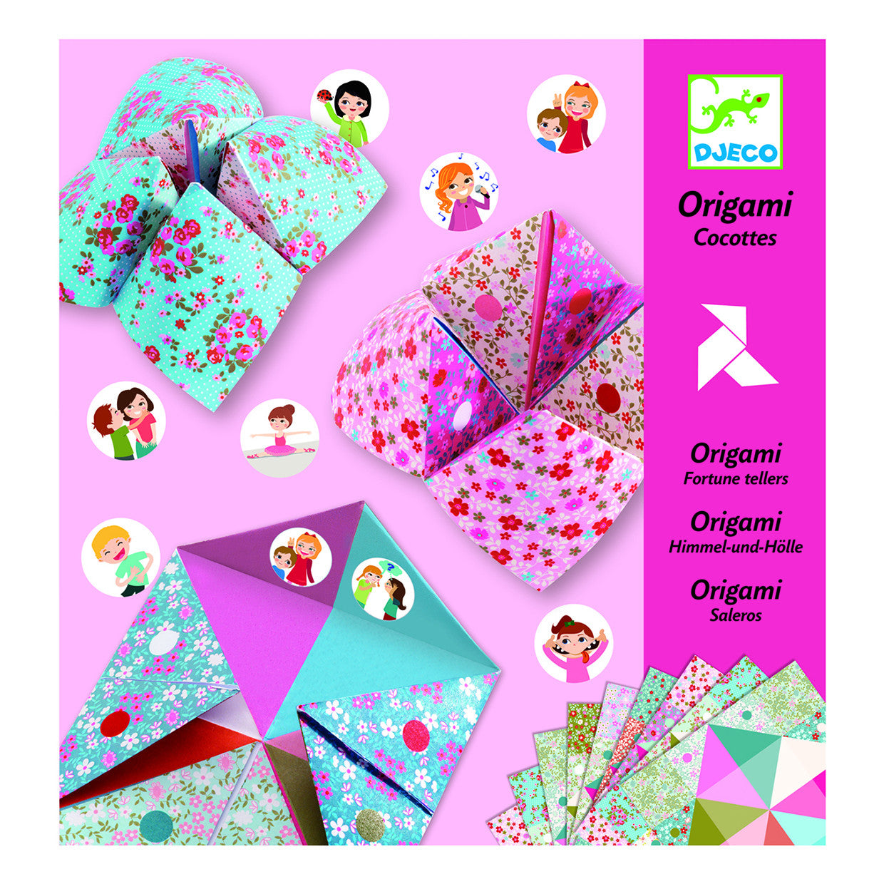 Fortune Tellers Origami Art Kit by Djeco - Little Citizens Boutique  - 1