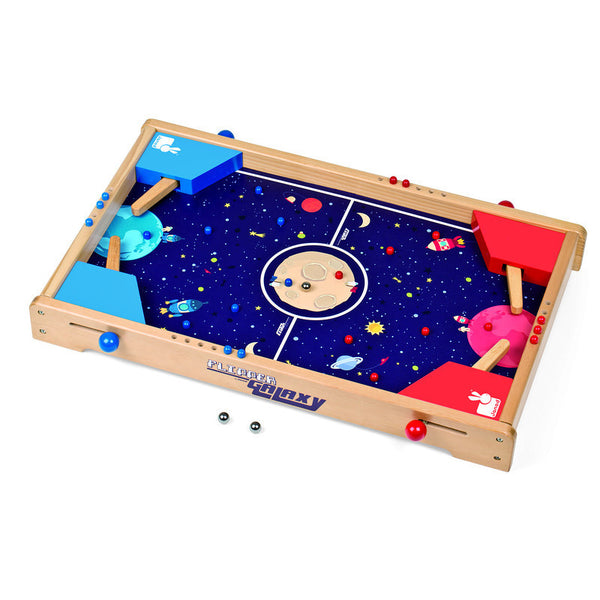 Galaxy Wooden Pinball Machine for Two