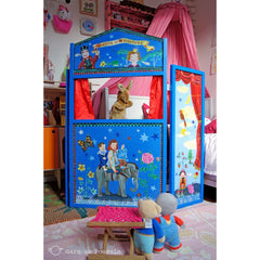 Nathalie Lete Wooden Puppet Theatre of Adventures - Little Citizens Boutique  - 2