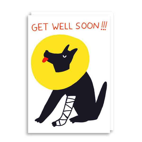 Get Well Soon Card from Cachetejack