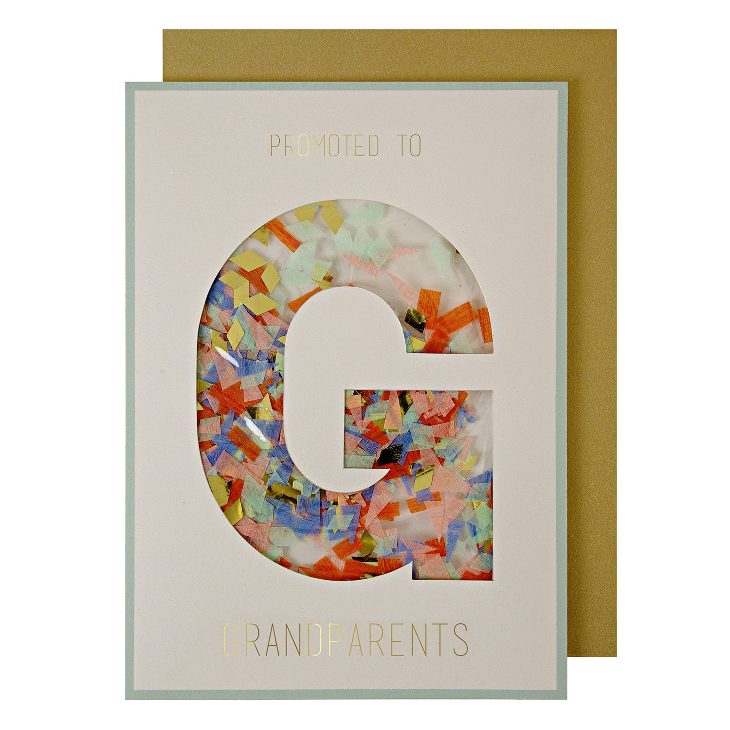 Promoted to Grandparents Greeting Card by Meri Meri - Little Citizens Boutique