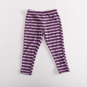 Grape Stripe Leggings