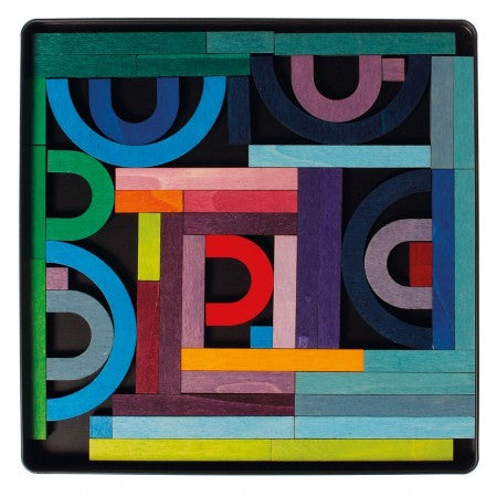 Magnetic Alphabet Letters Puzzle in Case - Grimm's