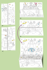 Hide and Seek Colouring Surprise by Djeco - Little Citizens Boutique  - 2