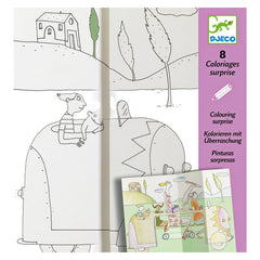 Hide and Seek Colouring Surprise by Djeco - Little Citizens Boutique  - 1