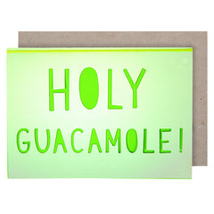 Holy Guacamole Card - Meri Meri - Little Citizens Boutique