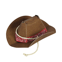 Howdy Cowboy Birthday Party Hats by Meri Meri - Little Citizens Boutique  - 2