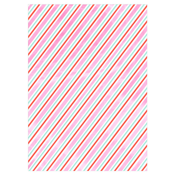 Iridescent Stripe Wrapping Paper by Meri Meri