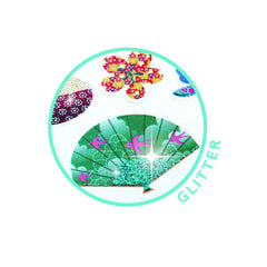 Djeco Japanese Glitter stickers - Little Citizens Boutique  - 2