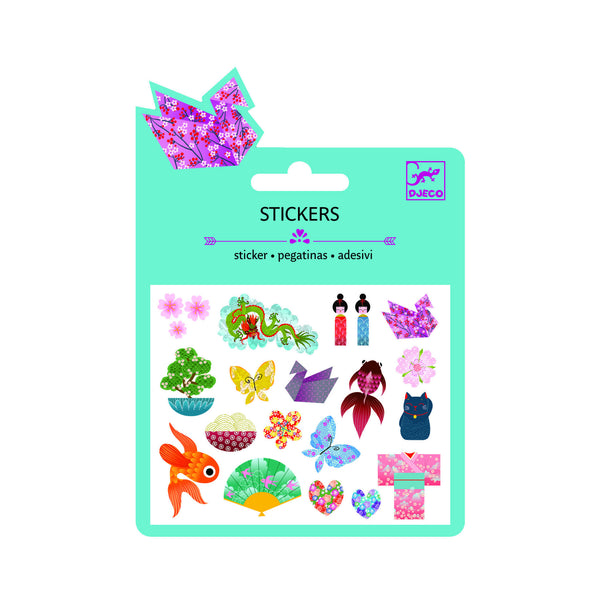 Djeco Japanese Glitter stickers