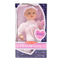 "Jenna 12"" Baby Doll by Melissa & Doug - Little Citizens Boutique  - 2"