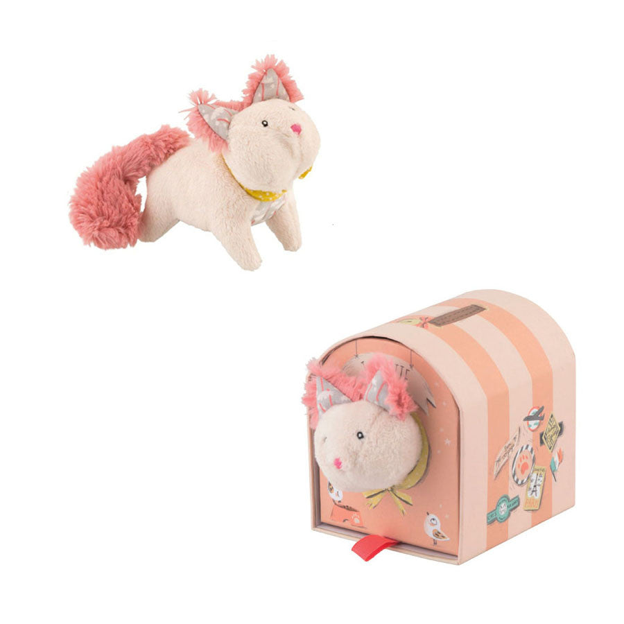 Juliette the Cat Plush Toy by Moulin Roty - Little Citizens Boutique  - 1