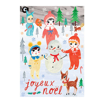 Advent Pop Out Calendar - Surprise Art by Lapin & Me