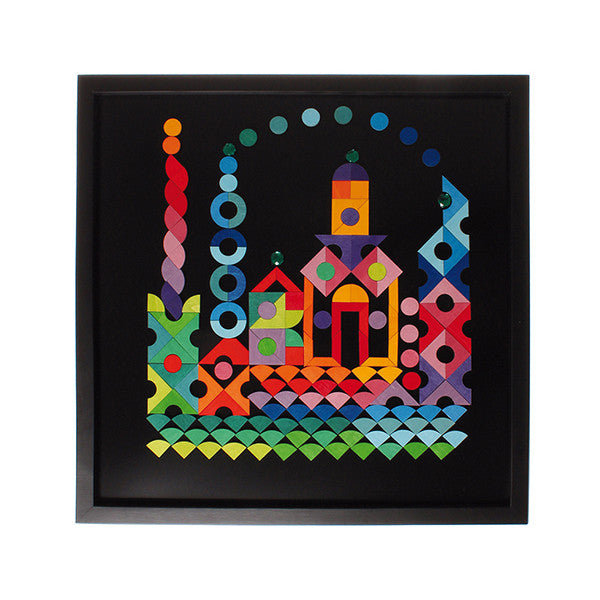 Large Black Board 50x50cm for Magnet Puzzles - Grimm's