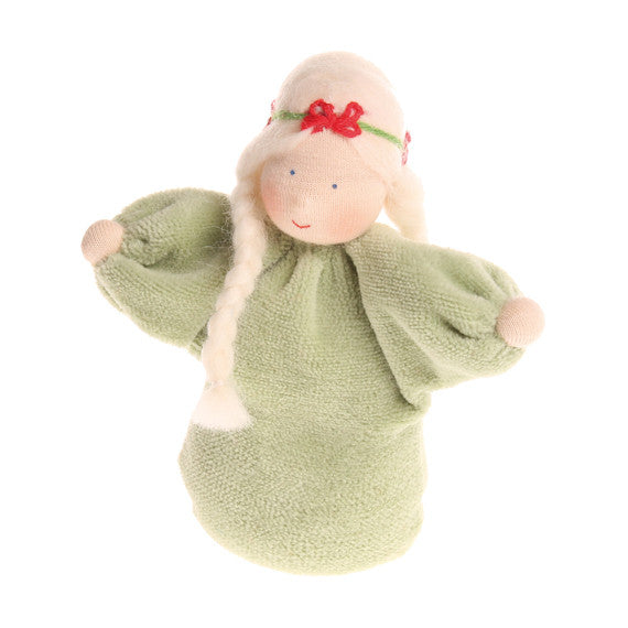 Lavender Girl Doll in Gentle Green - Grimm's