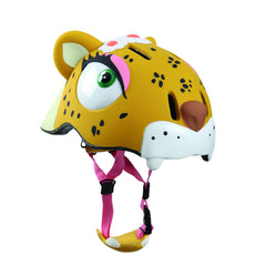 Leopard Bike, Scooter or Skateboarding Helmet by Crazy Safety - Little Citizens Boutique  - 1