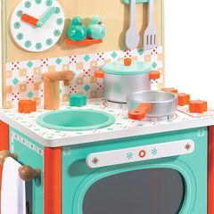 Leo's Cooker or Play Kitchen Toy by Djeco - Little Citizens Boutique  - 2