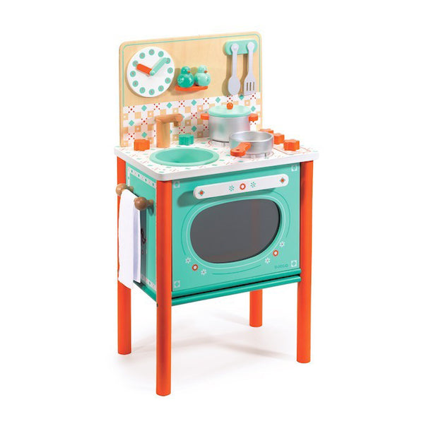 Leo's Cooker or Play Kitchen Toy by Djeco
