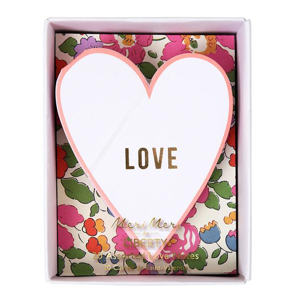 Liberty Love Notes -  by Meri Meri