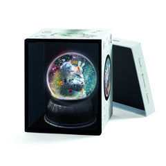 Lila & Pupi Night Light Snow Globe by Djeco - Little Citizens Boutique  - 2