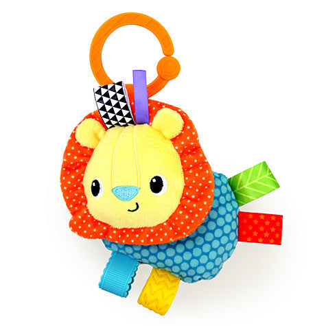 Taggies Lion Rattle by Bright Starts