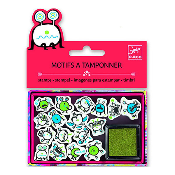 Little Monster Stamps by Djeco