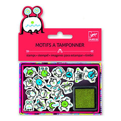 Little Monster Stamps by Djeco - Little Citizens Boutique