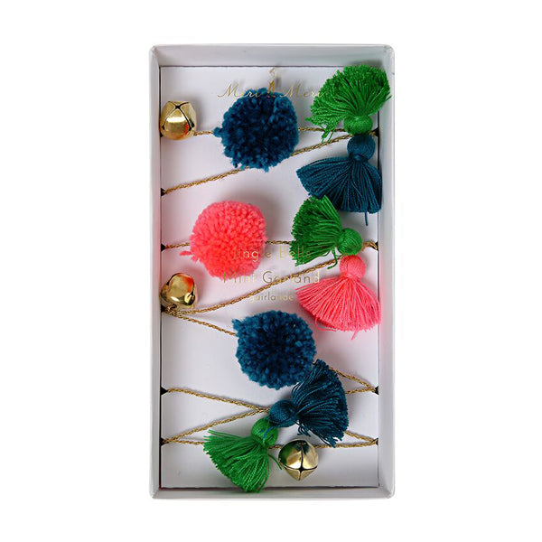 Jingle Bells Garland by Meri Meri