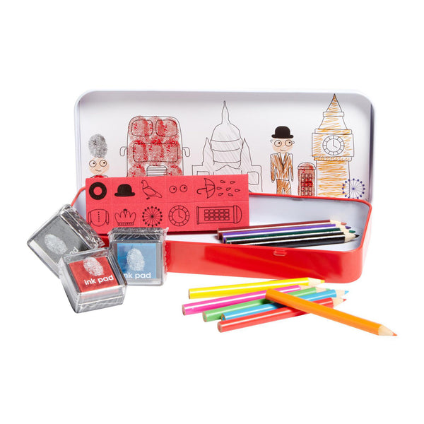 Finger Print London Art Set by Natural Products