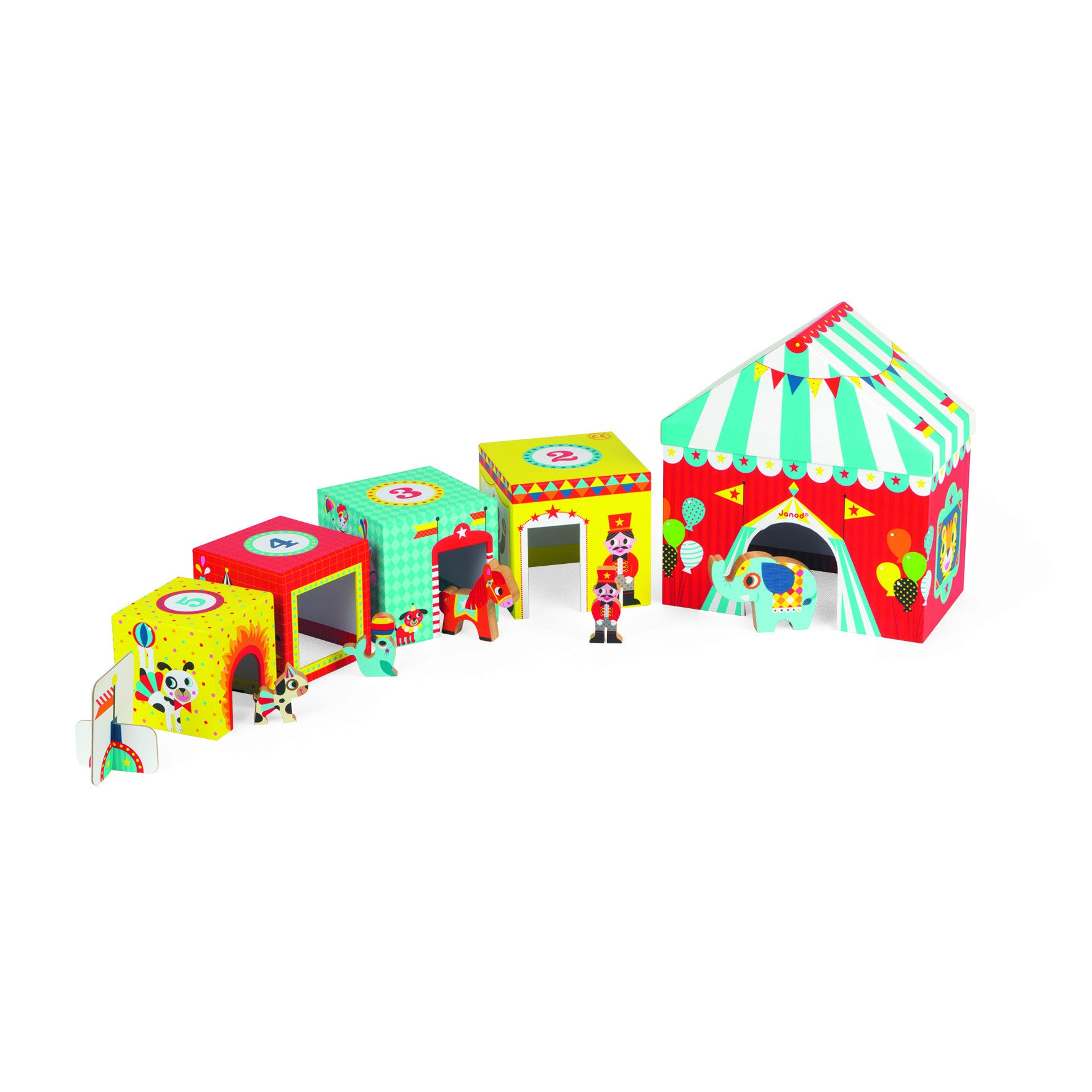 Multikub Circus - Janod - Little Citizens Boutique  - 1
