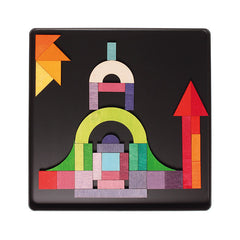 Magnetic Geo-Graphical Puzzle in Case - Grimm's - Little Citizens Boutique  - 2