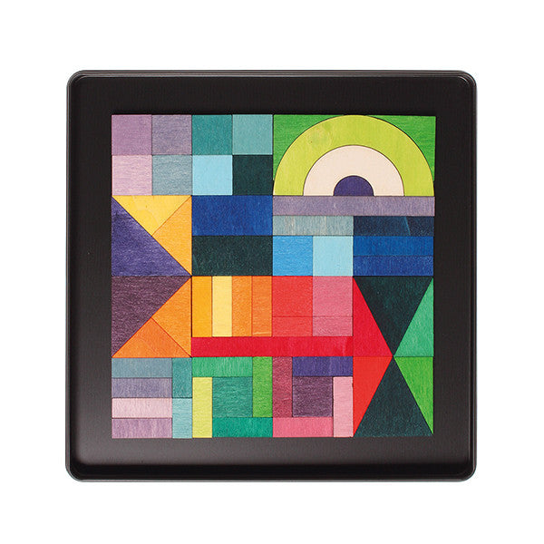 Magnetic Geo-Graphical Puzzle in Case - Grimm