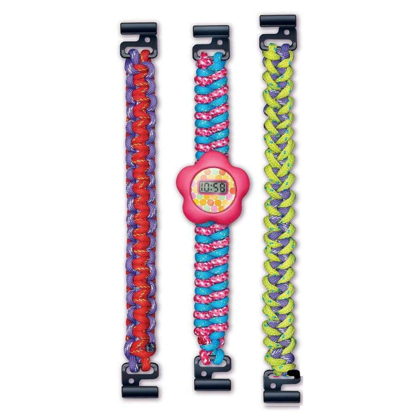 Make Your Own Woven Watch by Great Gizmos