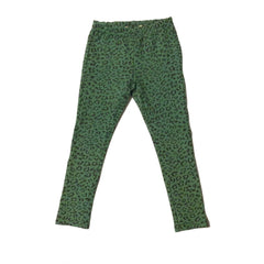 Mint Green Leopard Leggings - Little Citizens Boutique  - 5