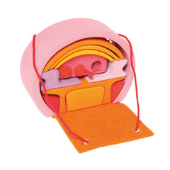 Mobile Home in Pink and Orange - Grimm's - Little Citizens Boutique  - 1
